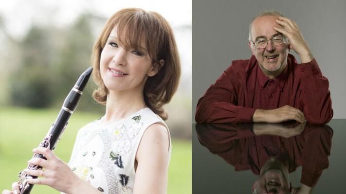 Emma Johnson (clarinet) and Martin Roscoe (piano)